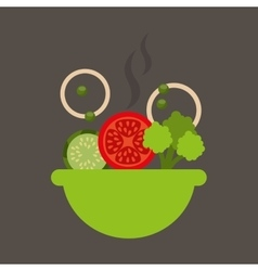 vegetarian menu healthy food vector image