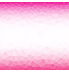 pink poly abstract background vector image