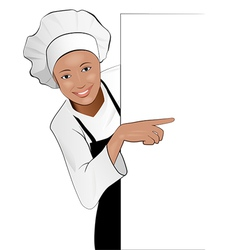 Lady cook vector