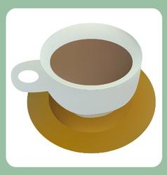 Hot cocoa vector