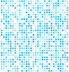 Squares blue technology pattern vector