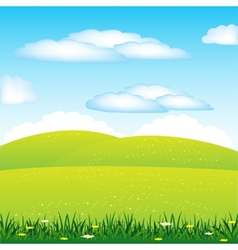 Year landscape vector