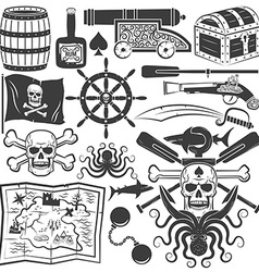 Design pirate logo vector