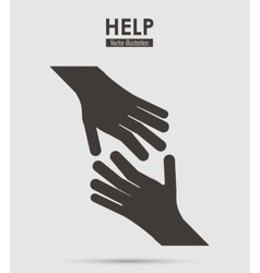 Help icon design vector