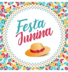 Festa Junina - Brazil june festival vector image