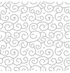 Curly pattern or seamless background vector