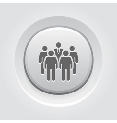 Meeting icon grey button design vector