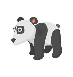 Panda cartoon style vector image
