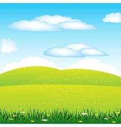 Year landscape vector image