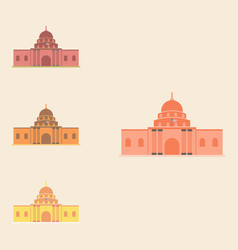 White house collection vector