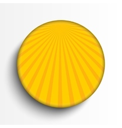 Sun burst circle on grey background eps 10 vector
