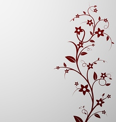 floral background Stock vector image vector image