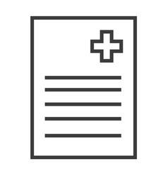 Medical recipe vector