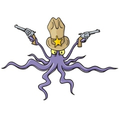 Sheriff squid vector