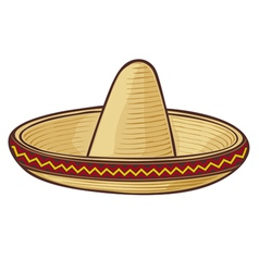 Sombrero mexican hat vector