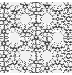 Monochromatic pattern on islamic motif vector
