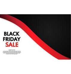 Black friday design vector