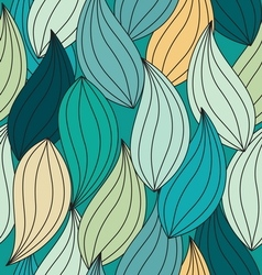 pattern leaf seamless1 vector image