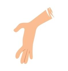 Help hand vector