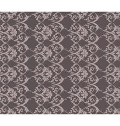 Classic vintage acanthus floral ornament pattern vector