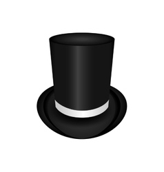 Hat male celebration cloth accesory icon vector