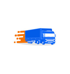 truckmobile vector image vector image