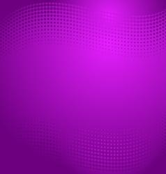 Violet halftone background vector image