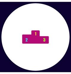 Pedestal computer symbol vector