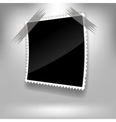 Single Photo Frame vector image vector image