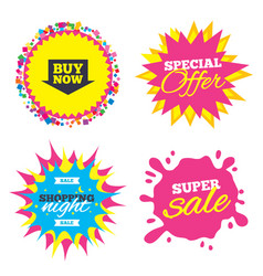 buy now sign icon online buying arrow button vector image