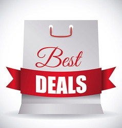 Best deal design vector