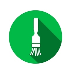 Brush icon paint-brush painting brush work job vector
