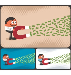 Money Magnet vector image vector image