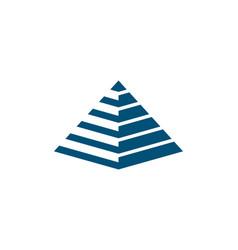 Pyramid logo template ilustration vector