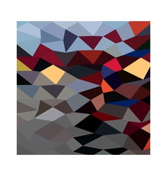 River flowing abstract low polygon background vector