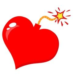 Love Bomb vector image