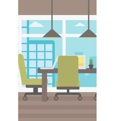 Background of conference room vector