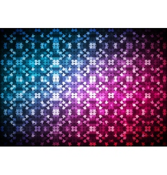 Abstract blue red light background vector image vector image