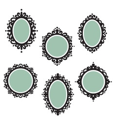 antique frames vector image vector image