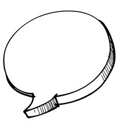 speech Bubble 2 vector image