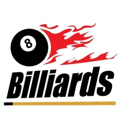 Billiards symbol vector