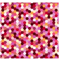 Seamless geometric hexagonal pattern vector