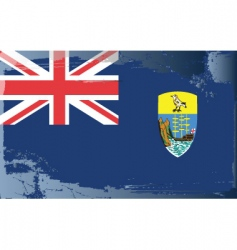 St helena ascension flag vector