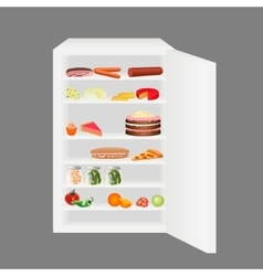 Full fridge vector