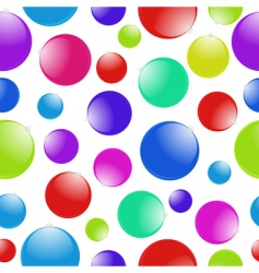 Christmas ball pattern vector image