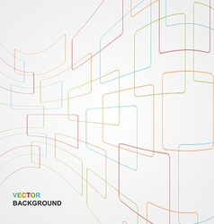 Colorful Abstract Lines Background vector image vector image