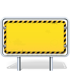 Industrial billboard vector