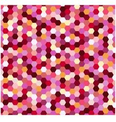 Seamless geometric hexagonal pattern vector