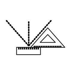 Squared measured grades vector