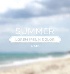 Summer time retro defocused old background vector